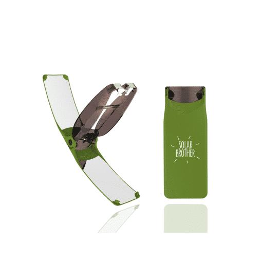 briquet solaire suncase gear vert