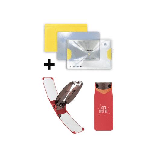 Briquet solaire + kit adventure