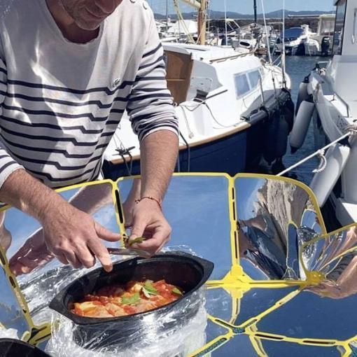 sungood sur bateau