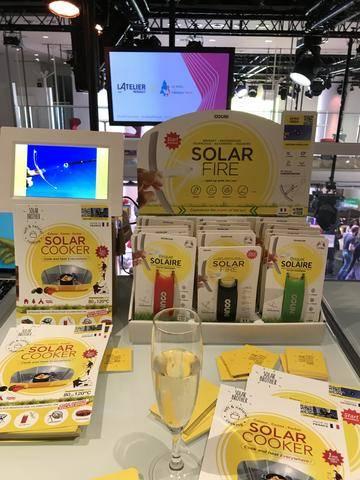 briquet solaire