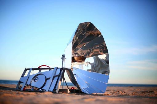 Barbecue solaire Sunplicity