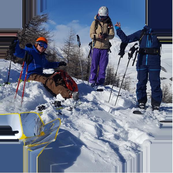 cuiseur solaire au ski